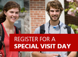 Register For A Special Visit Day