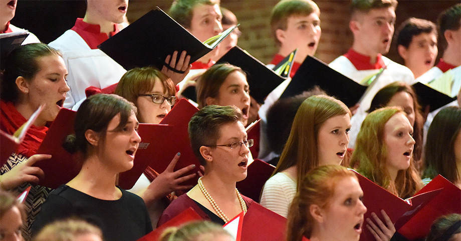 Wittenberg Choir Recent Vintage