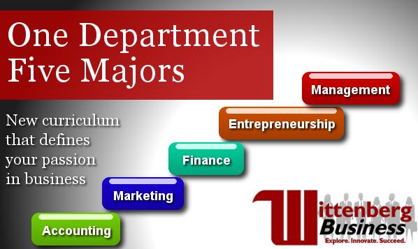 One Department, FIve Majors