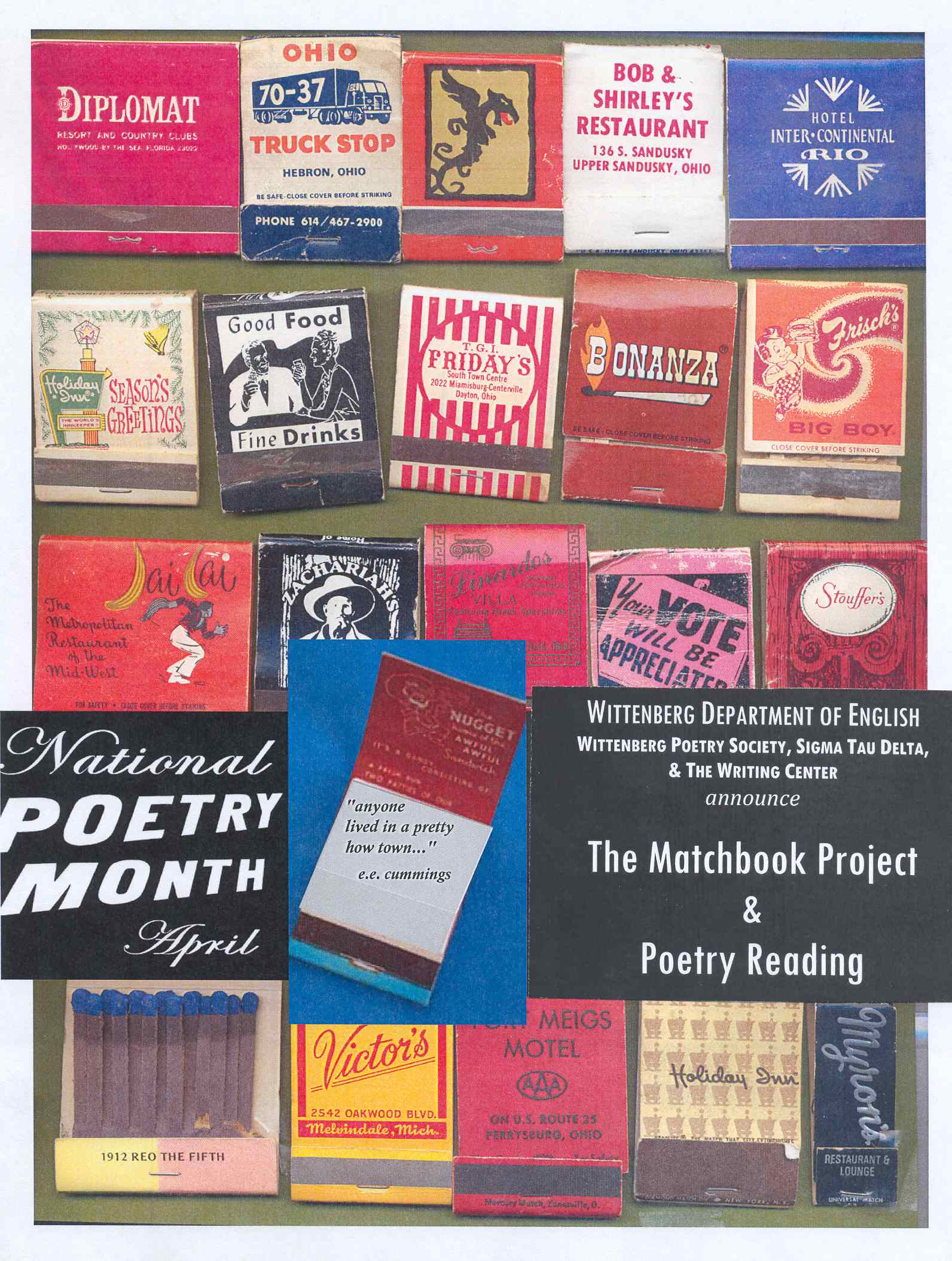 Matchbook poetry