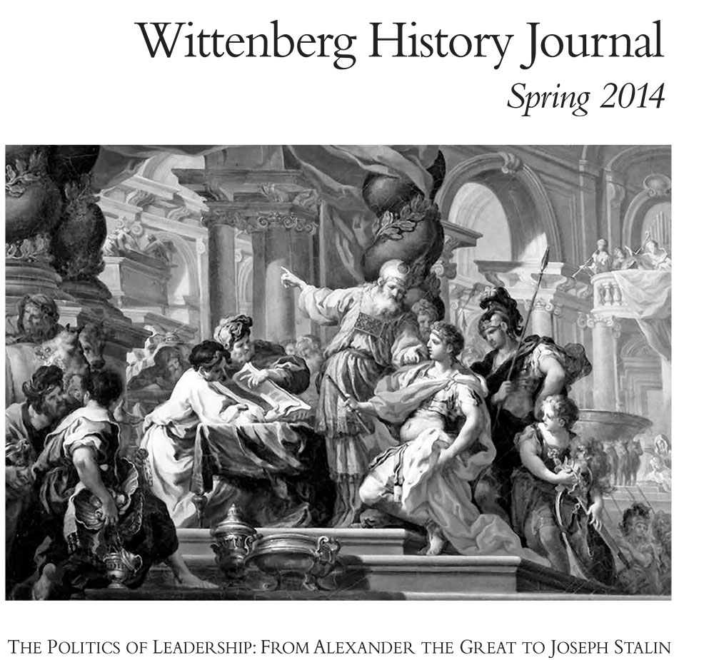 2014 History Journal Cover