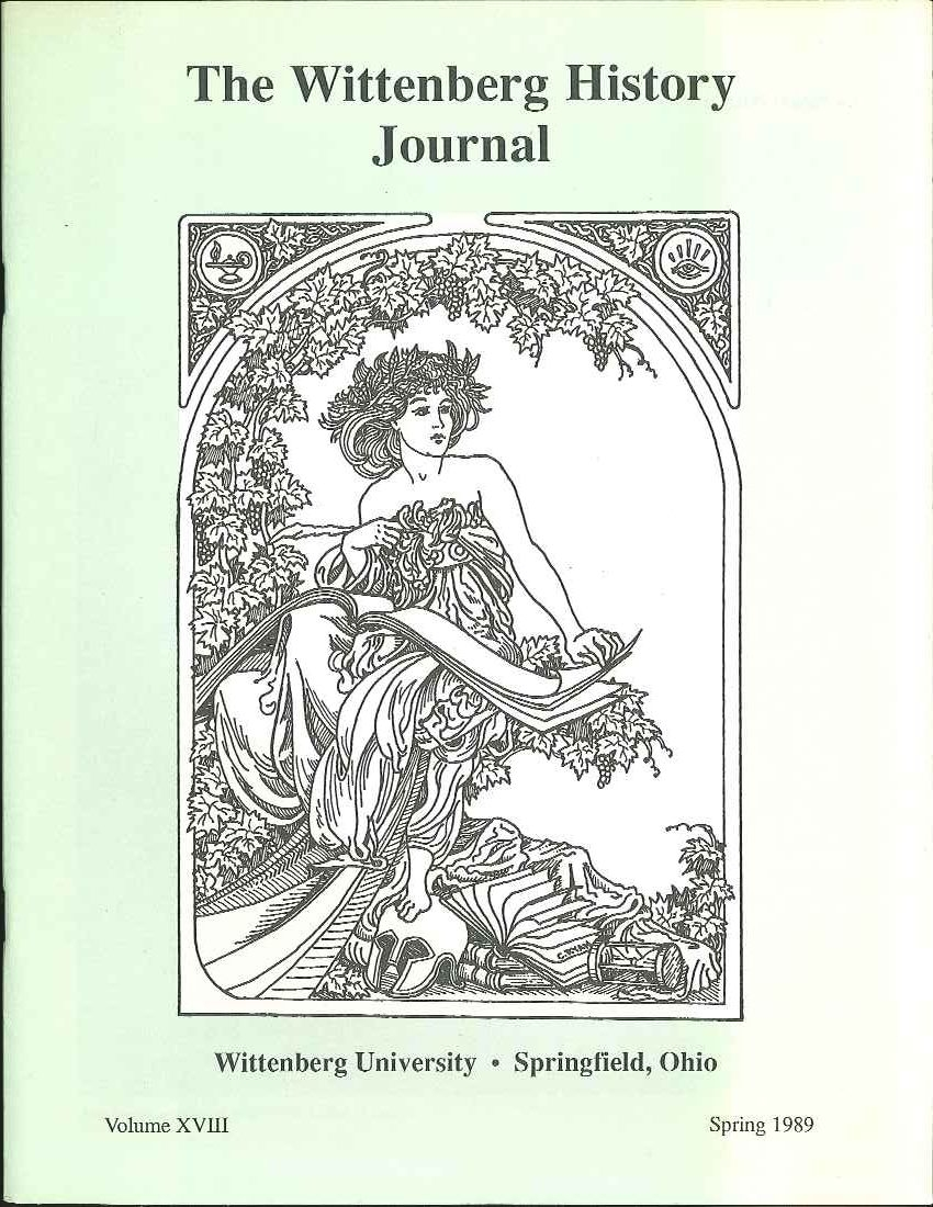1989 History Journal Cover