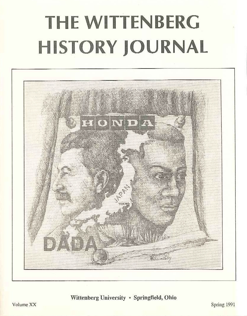 1991 History Journal Cover