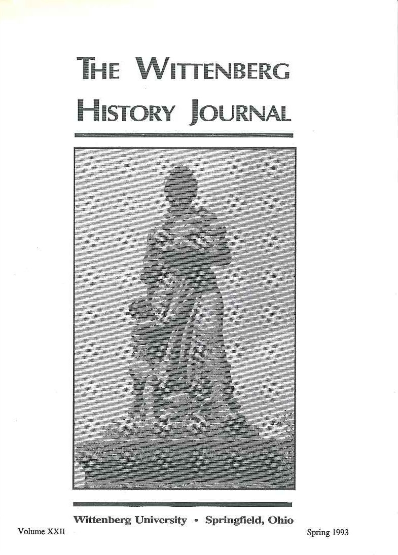 1993 History Journal Cover