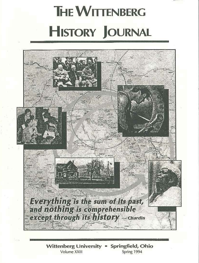 1994 History Journal Cover