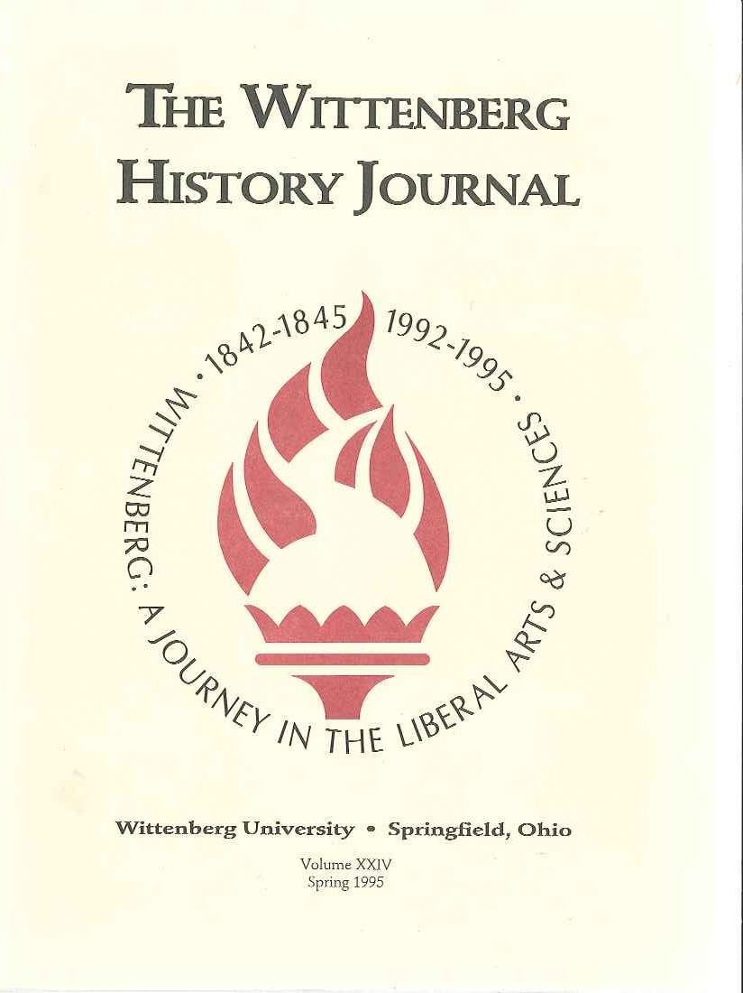 1995 History Journal Cover