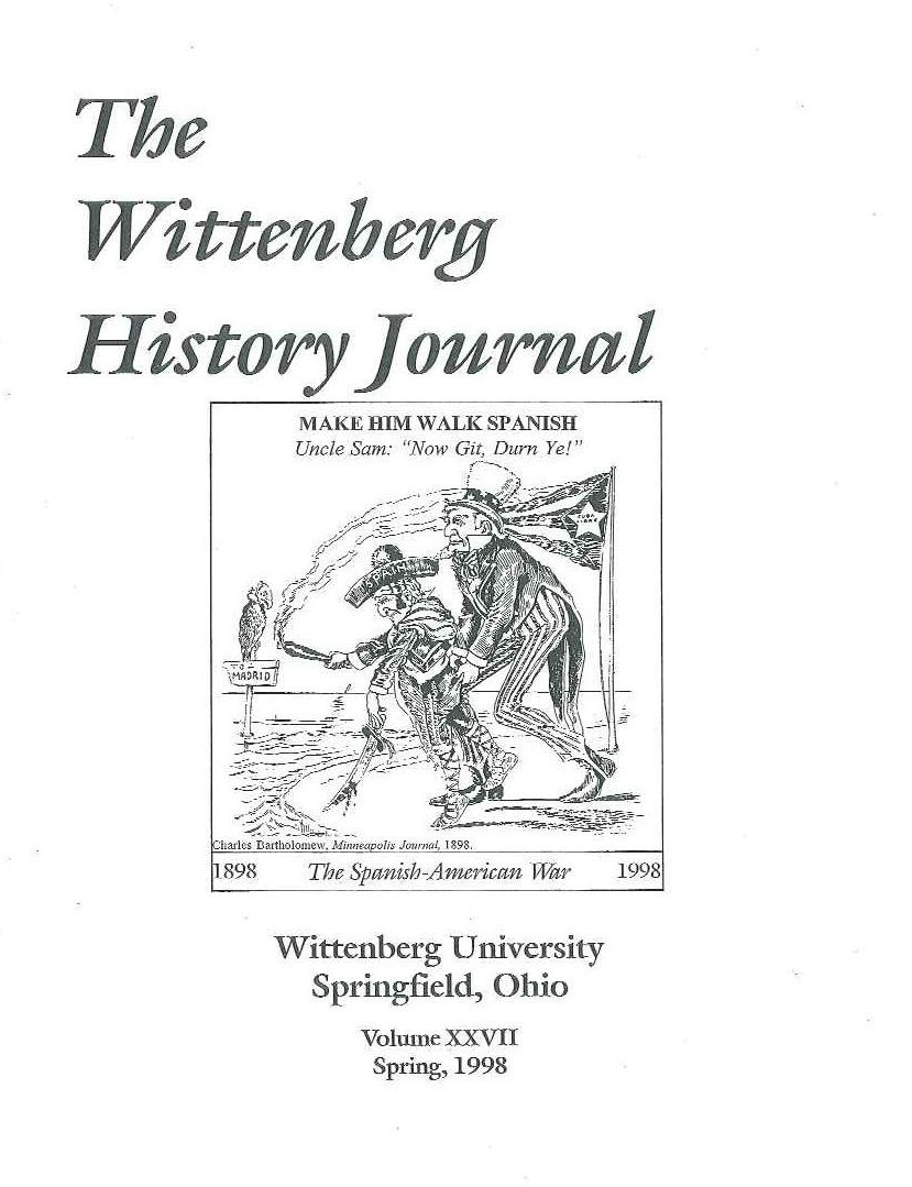1998 History Journal Cover