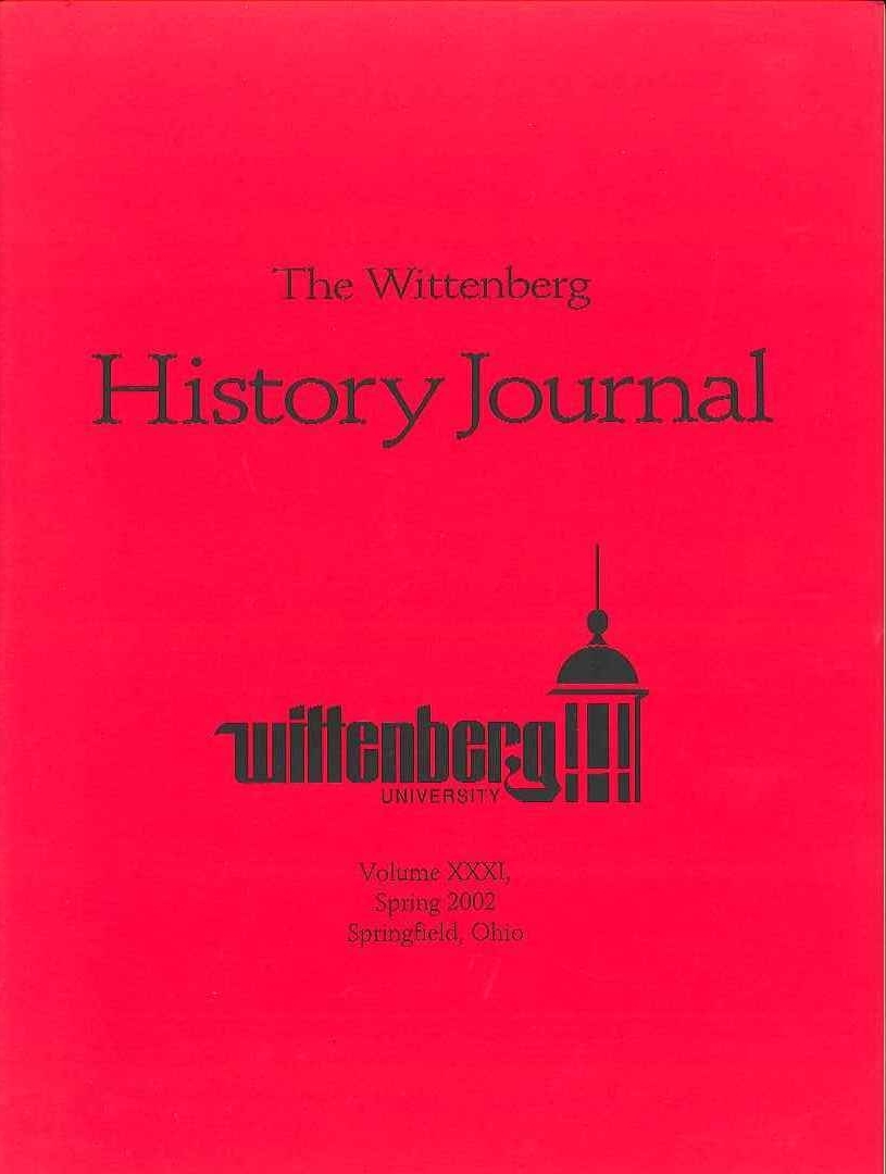 2002 History Journal Cover
