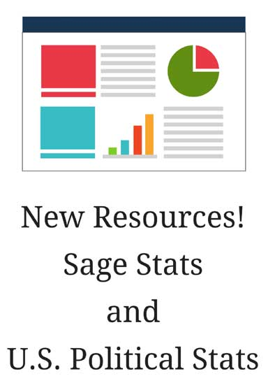 New Resources! Sage Stats and U.S. Political Stats
