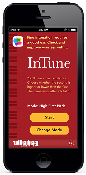 InTune iPhone app