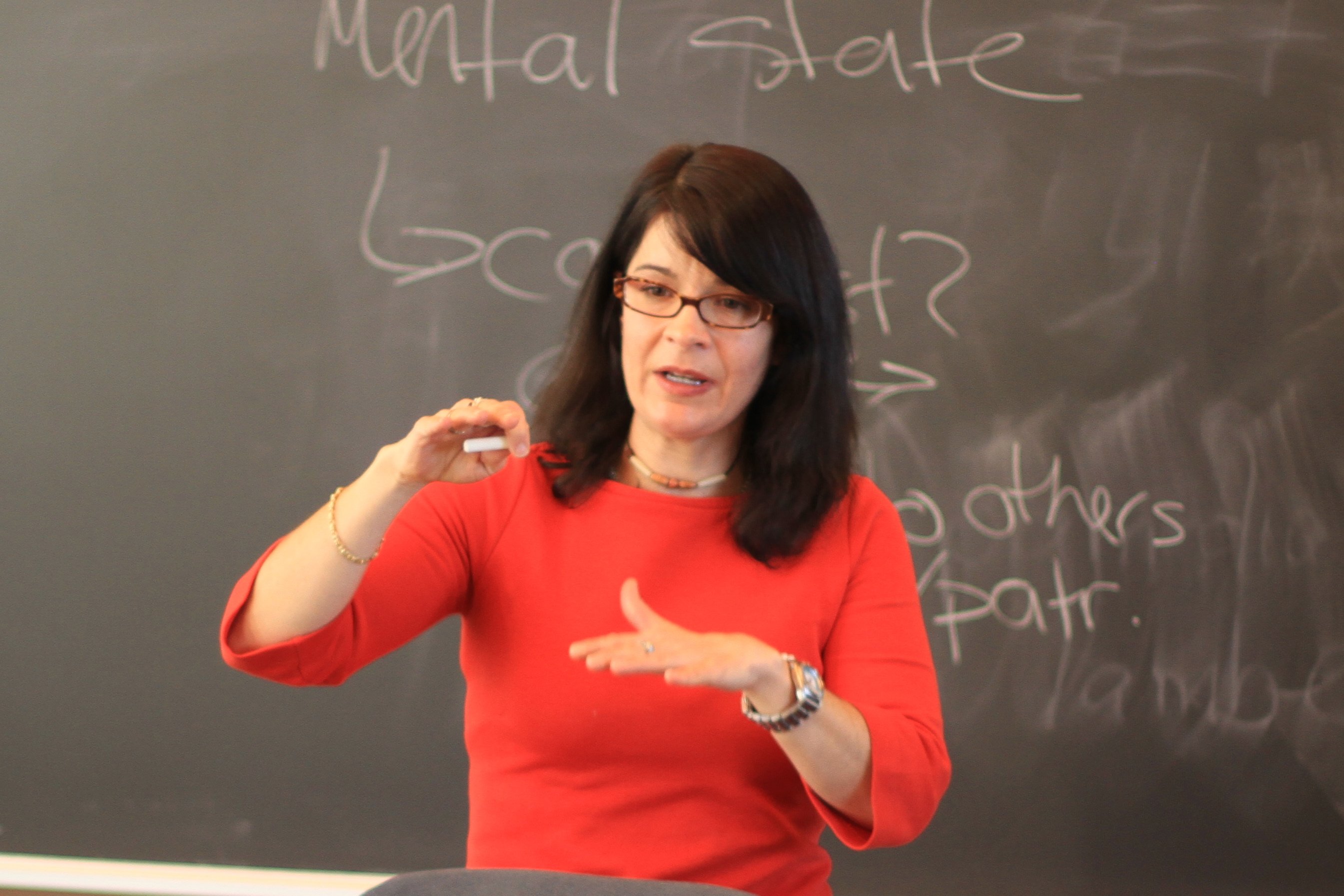 Dr. Nancy McHugh in Modern Philosophy, February 2012
