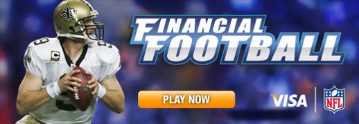 Financial Football Graphic