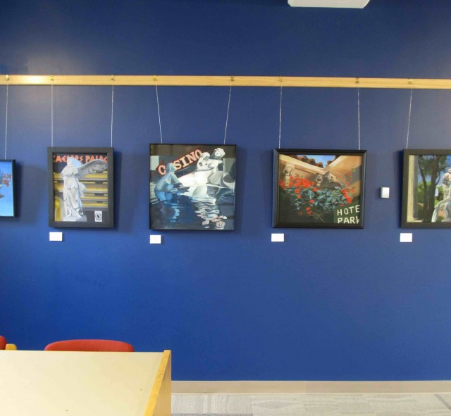 Brubaker Pieces in Thomas Library