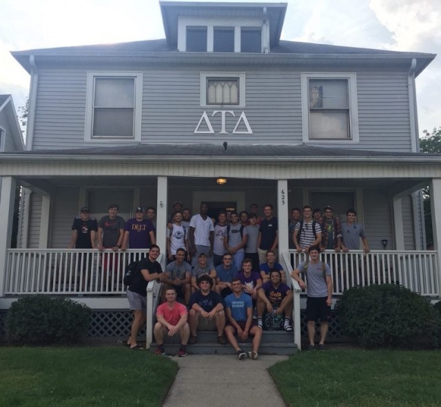 Delta Tau Delta recently honored