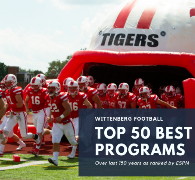 Wittenberg Football Graphic