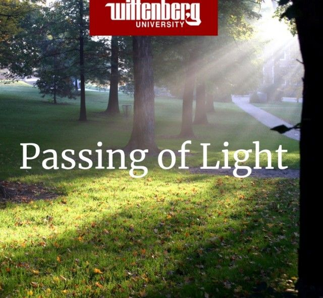 Passing of Light