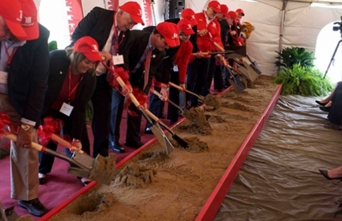 Groundbreaking ceremony for HWA Complex