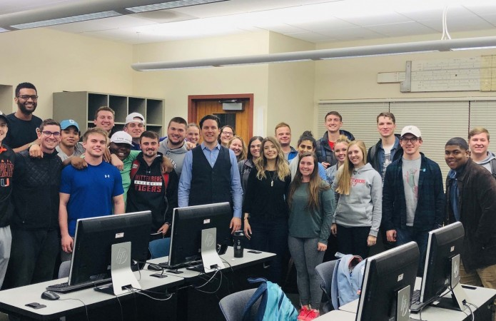 Kevin Steidel's Digital Marketing class