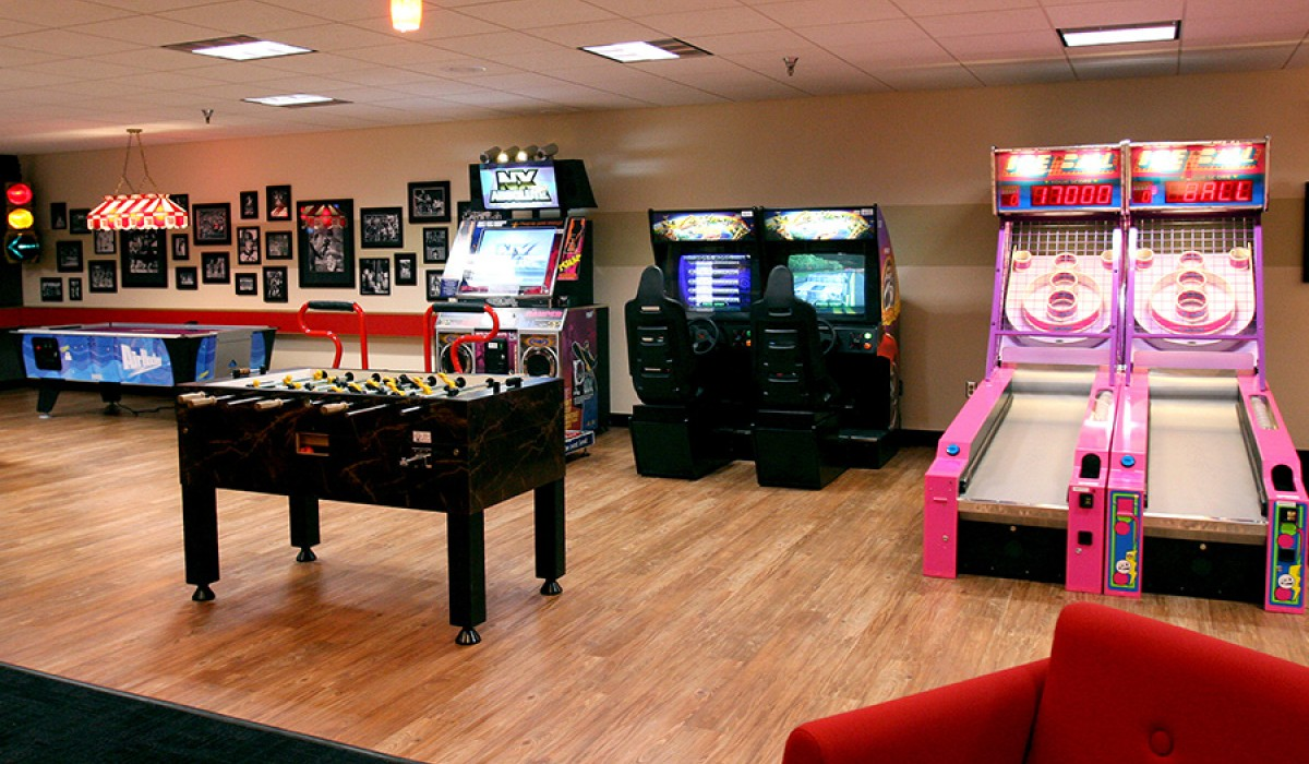 Doppelgangers Game Room interior