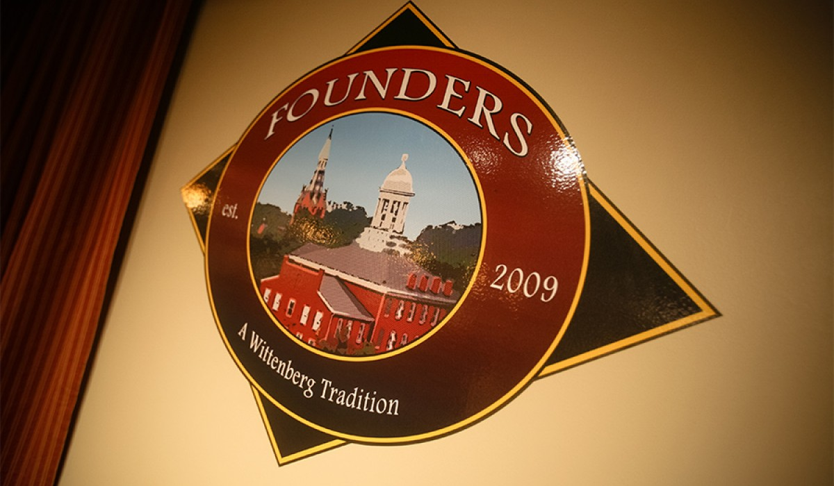 Founder's Pub sign