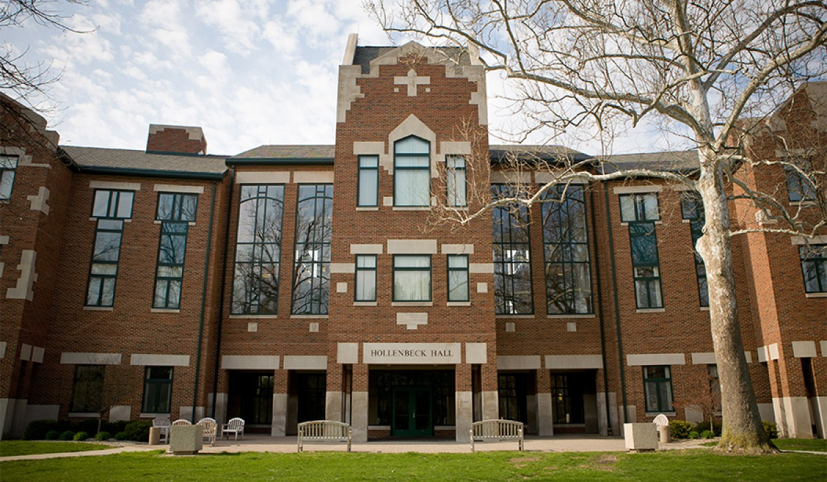 Hollenbeck Hall from the front