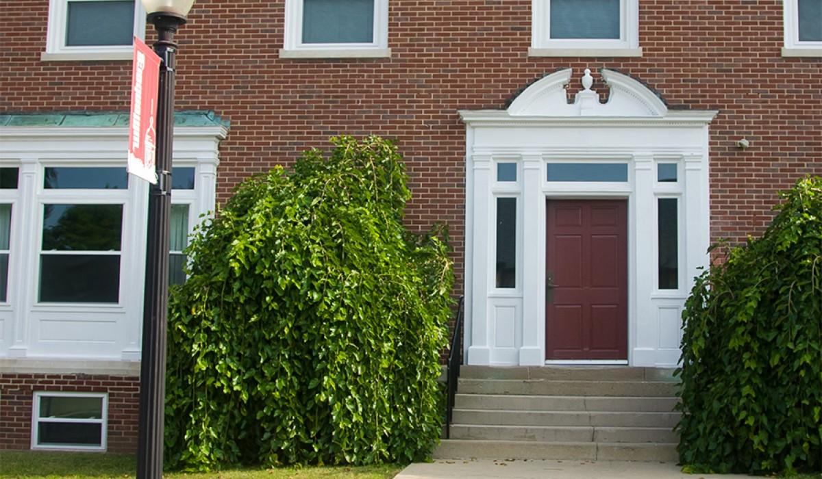 Polis House front door