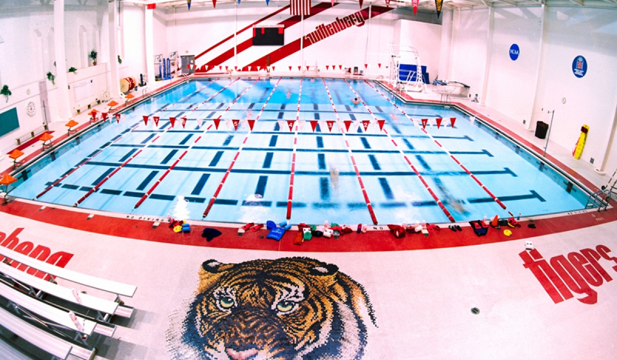 Wittenberg University's Health, Physical Education, and Recreation Center Natatorium