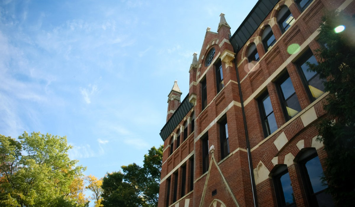 Recitation Hall exterior
