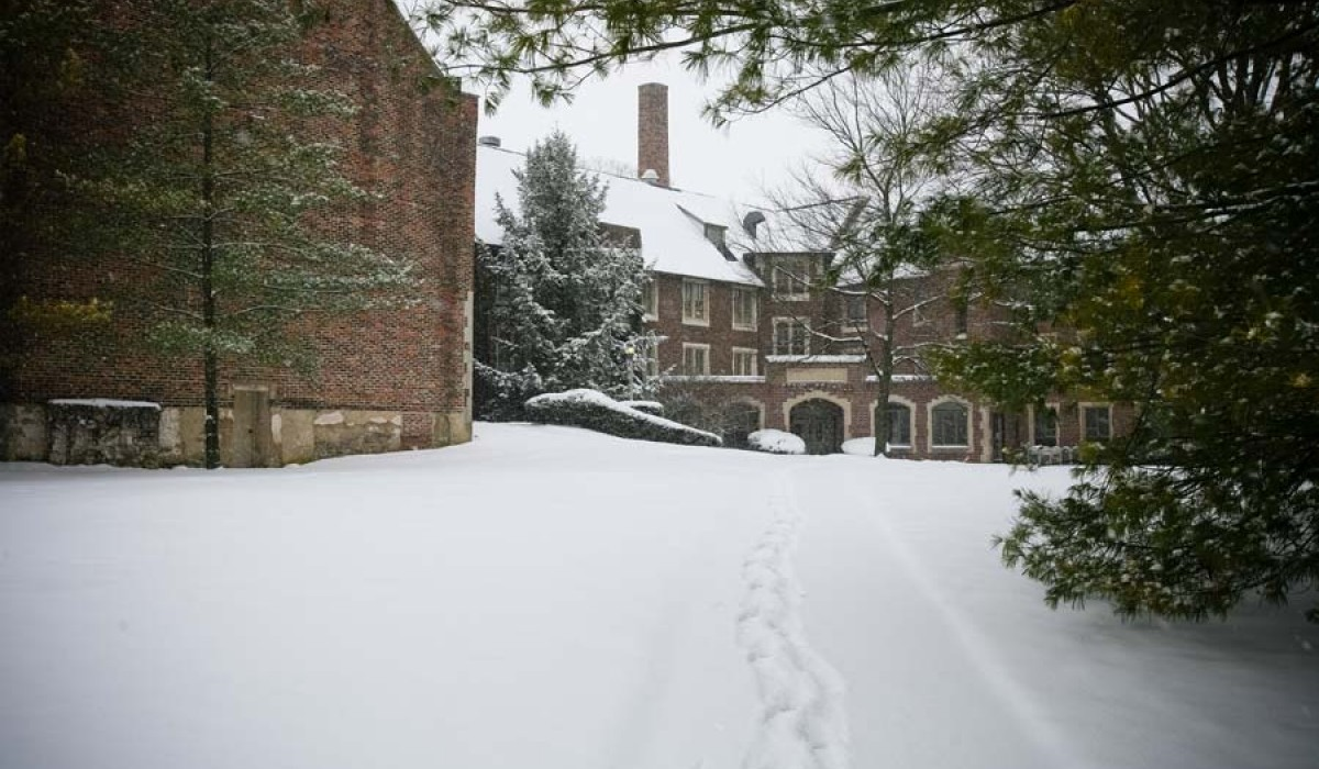 Wintertime Ferncliff Hall