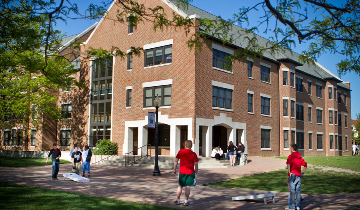 New Residence Hall exterior