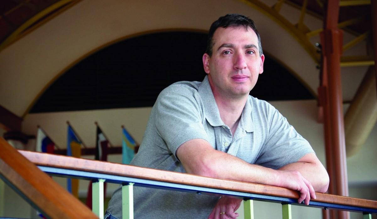 Scott Rosenberg, professor of history and chair of Witt's Peace Corp Preparation Program