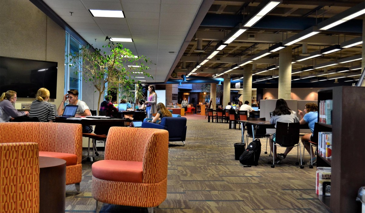 Compass Center in the Thomas Library