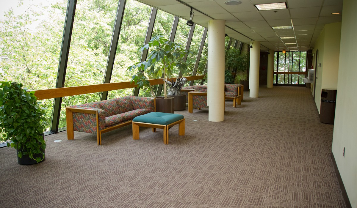 Shouvlin Center hallway