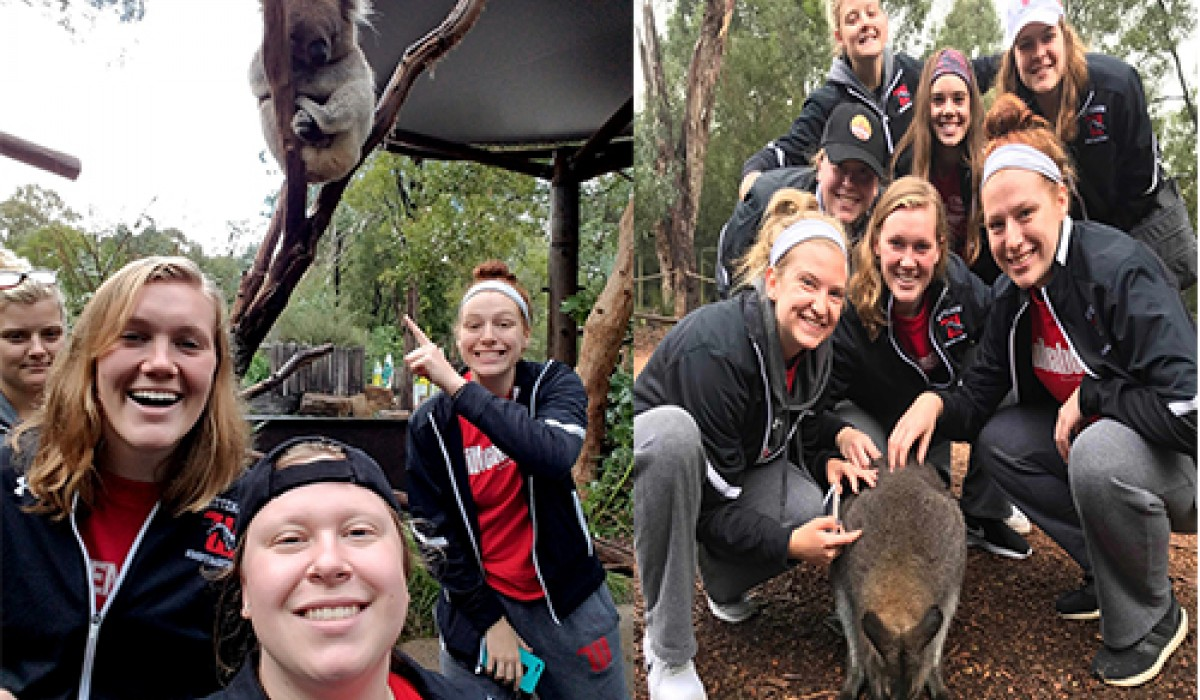 Women's Basketball Team in Australia