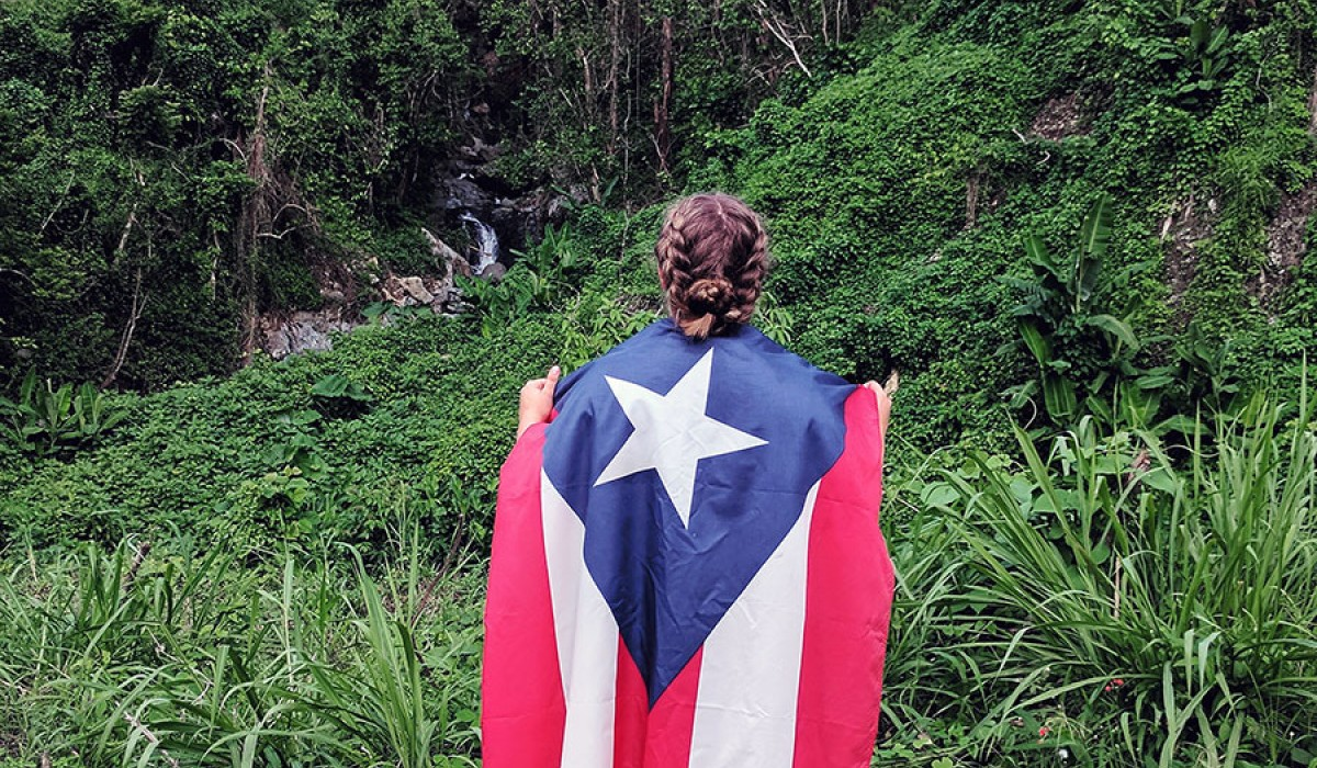 Mary-Elizabeth Pratt '15 in Puerto Rico after Hurricane Maria