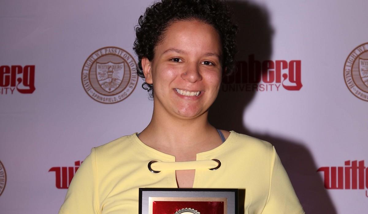 Outstanding Scholar - Corina Cleveland
