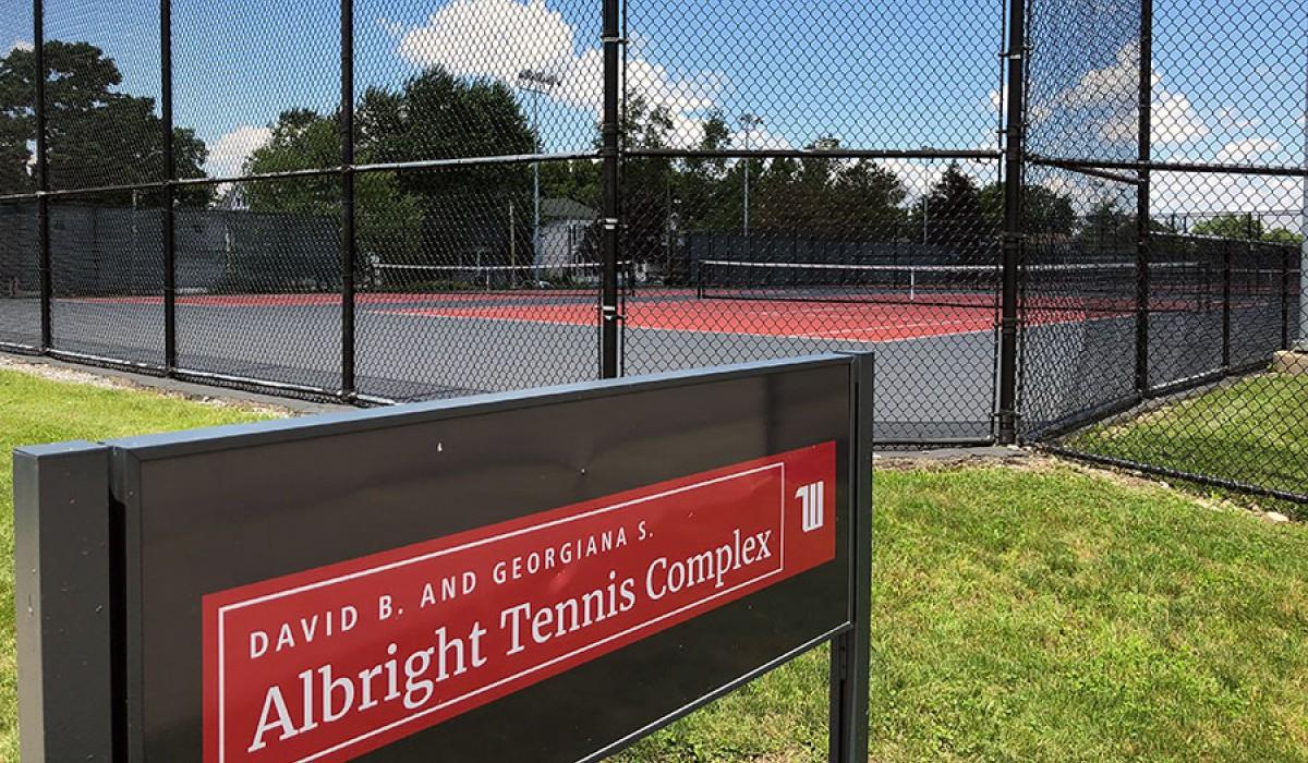 Wittenberg University Tennis Courts