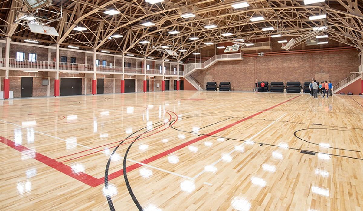 Wittenberg University's Health, Wellness & Athletics Complex 1929 Gymnasium