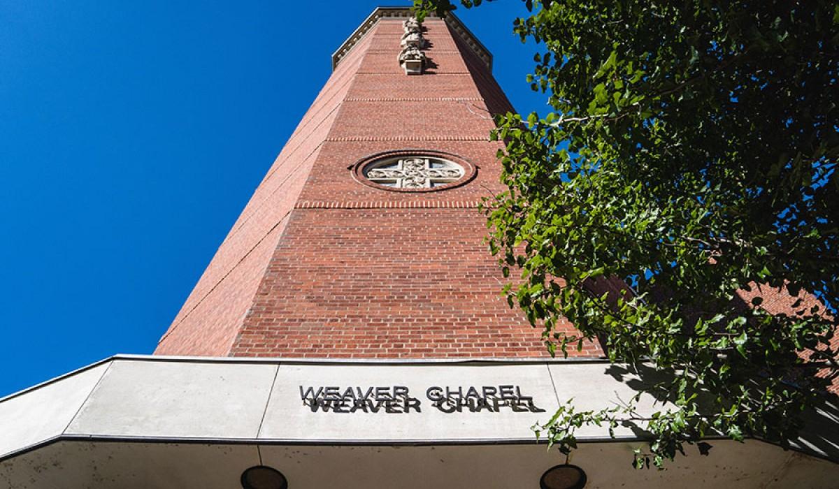 Wittenberg University Weaver Chapel