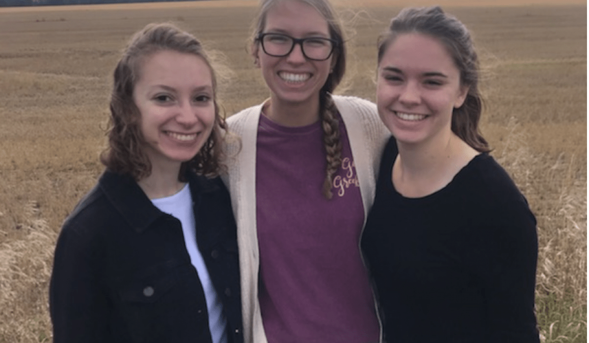 Emily Nolan, Courtney Buck, and Jamie Spallino