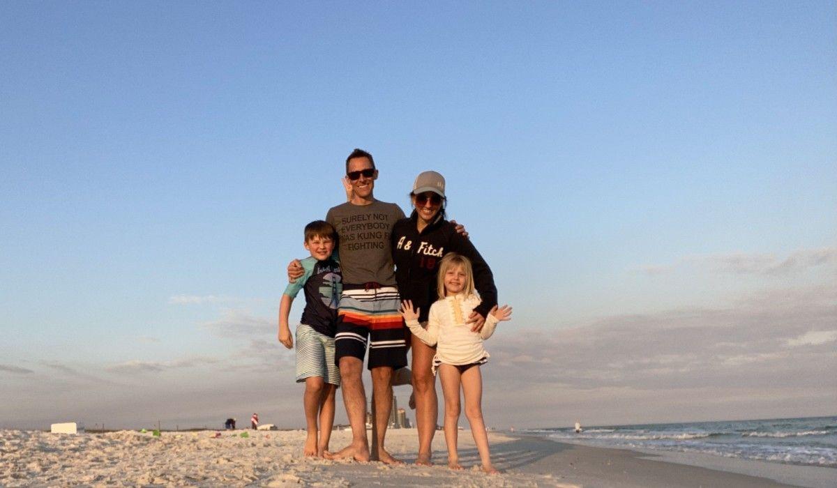 Nicki Herd-Walker '00 and Family