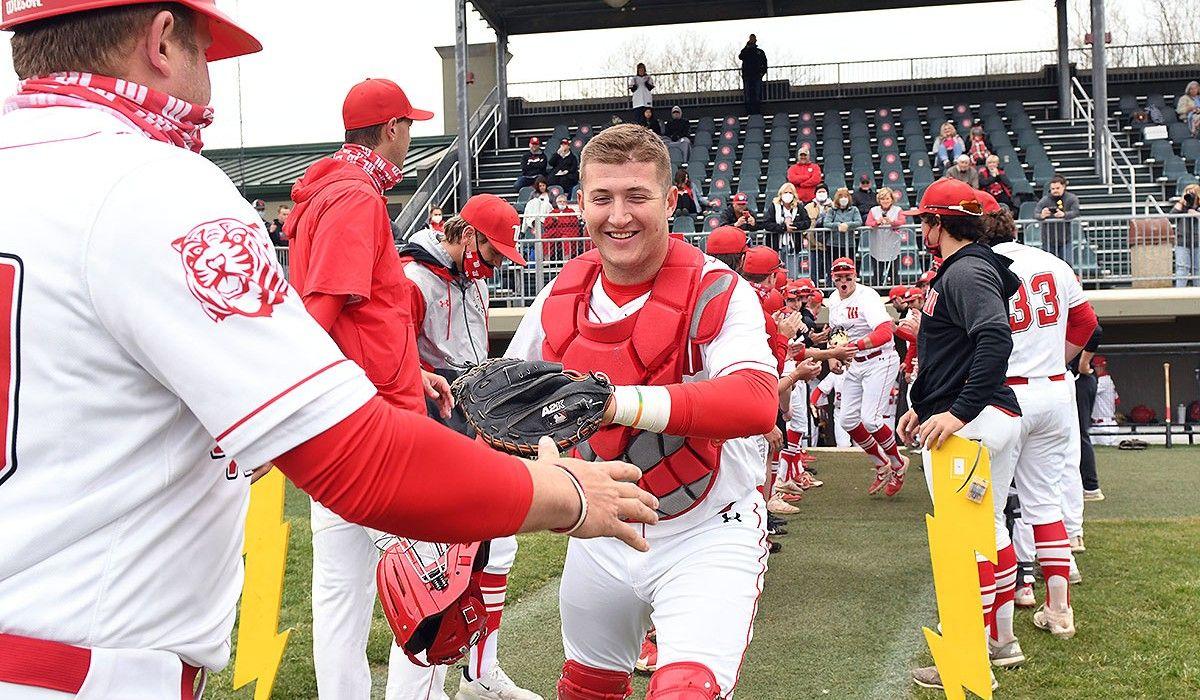Jack Hollinshead and Wittenberg Tiger Baseball