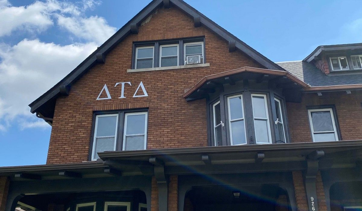 New Delta Tau Delta Fraternity House